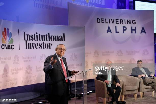 EVENTS Delivering Alpha 2014 Pictured Leon G Cooperman Chairman Omega Advisors Inc Michael Novogratz Principal and Director Fortress Investment Group...