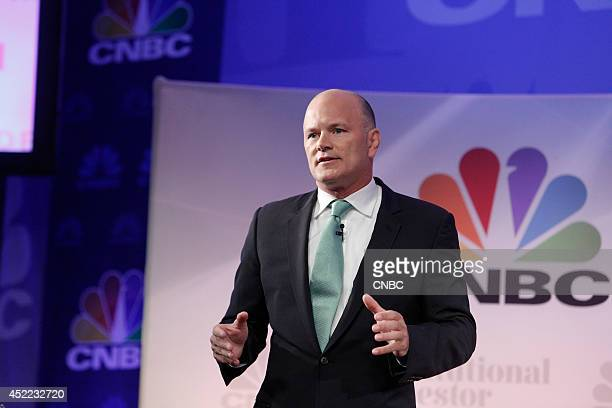 EVENTS Delivering Alpha 2014 Pictured Michael Novogratz Principal and Director Fortress Investment Group LLC during the Best Ideas panel at the CNBC...