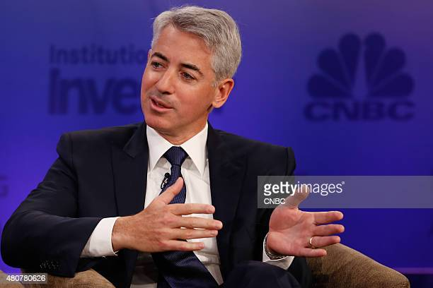 Delivering Alpha 2015 -- Pictured: Bill Ackman, CEO and Portfolio Manager, Pershing Square Capital Management, at the 2015 Delivering Alpha on July...