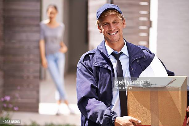 Delivering your parcels promptly and professionally