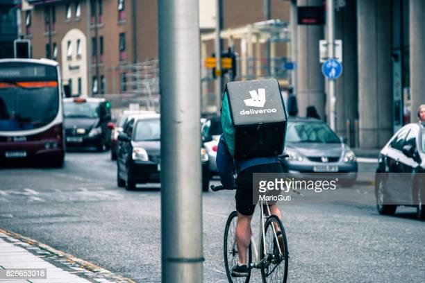 Deliveroo cycliste