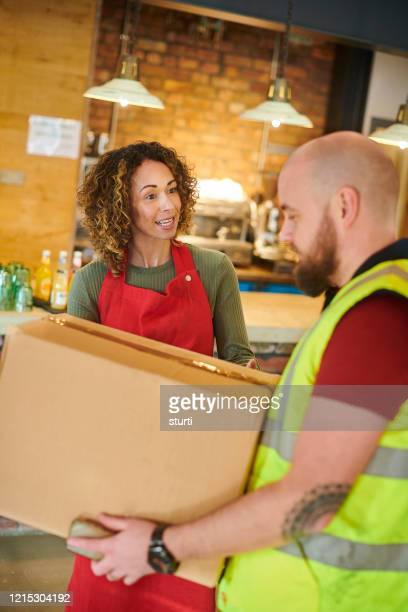 delivery for small business - sturti stock pictures, royalty-free photos & images