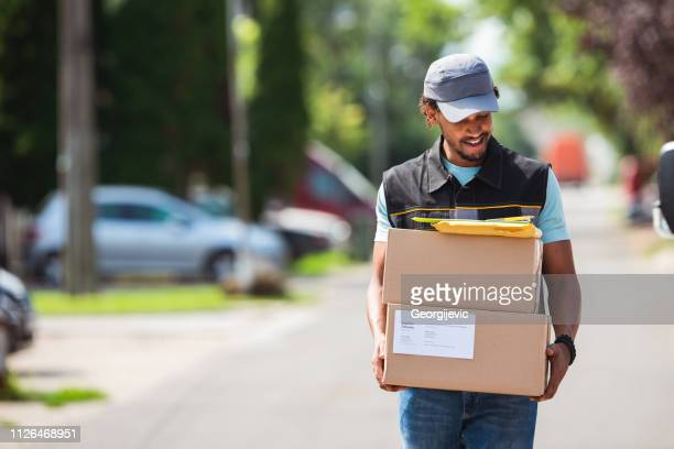 delivery service - post office stock pictures, royalty-free photos & images
