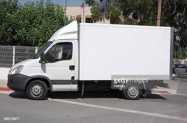 caminhão de entrega. - pequeno - fotografias e filmes do acervo