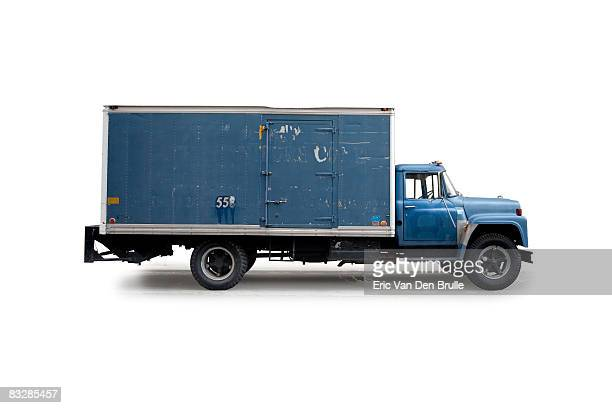 delivery truck - eric van den brulle stock pictures, royalty-free photos & images
