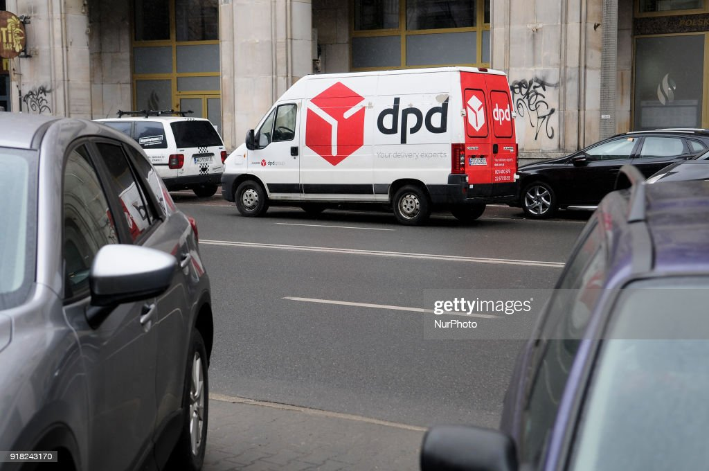 A DPD delivery van is seen in Warsaw, Poland on February 14, 2018.