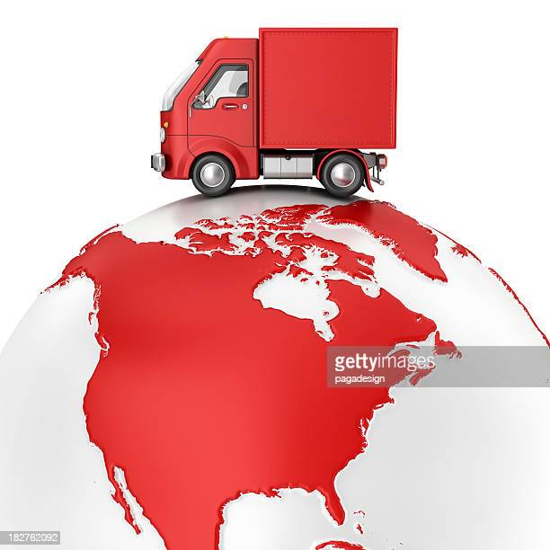 delivery van on earth