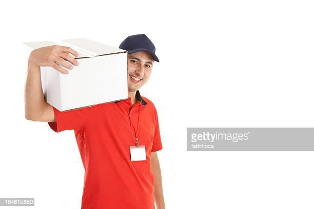 deliveryman - carteiro imagens e fotografias de stock