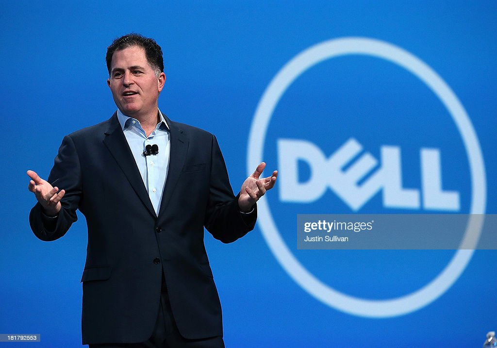Michael Dell Addresses Oracle Open World Conference : News Photo