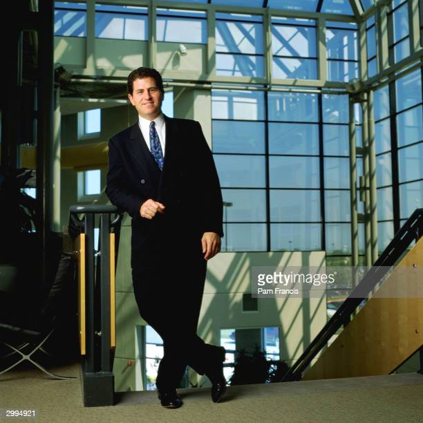 Dell Computers Founder and CEO Michael Dell photographed on June 24, 2003 in Austin, Texas.