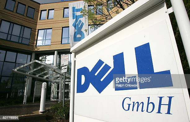Dell sign lies outside the German headquarters of Dell Inc May 9 2005 in Langen Germany A Dell spokesperson has stated that the company is currently...