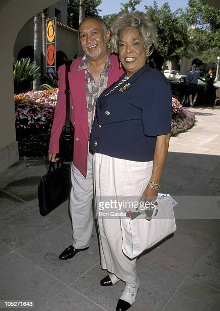 Della Reese and Husband Franklin Lett during 1998 Summer TCA Press Tour CBS Network at Ritz Carlton Hotel in Pasadena CA United States