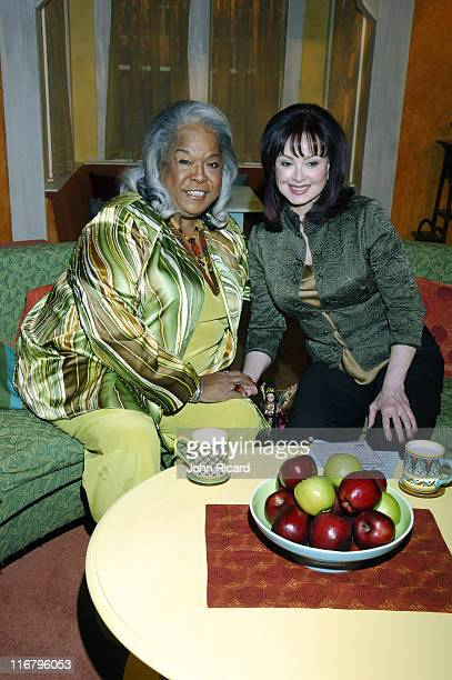 Della Reese and Naomi Judd during Della Reese Visits the Hallmark Channel's 'Naomi's New Morning' January 26 2007 at Metropolis Studios in New York...