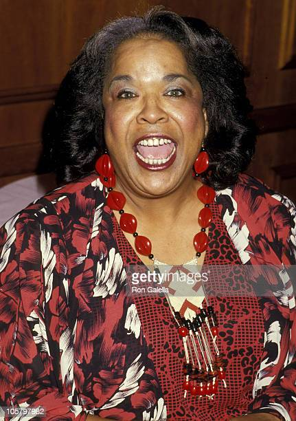 Della Reese during Hans Christian Andersen Award March 15 1987 at Century Plaza Hotel in Los Angeles California United States