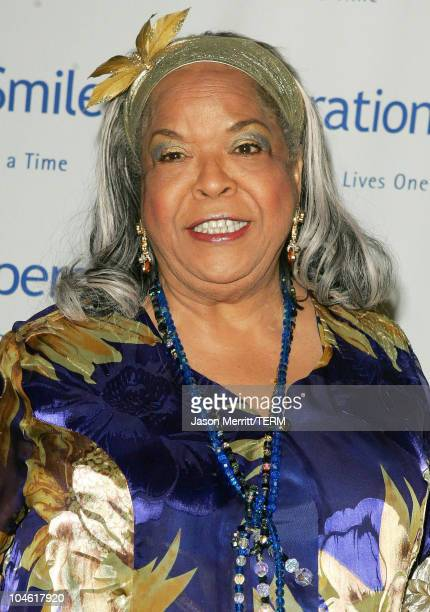Della Reese during Operation Smile 4th Annual Los Angeles Gala at Regent Beverly Wilshire Hotel in Los Angeles California United States