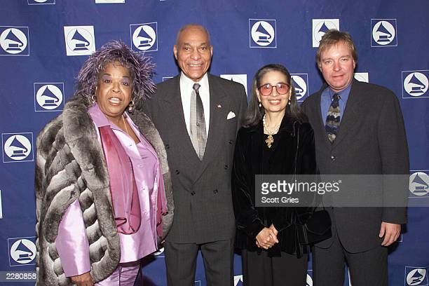 Della Reese General George Price Gail Buckley and Gene Maillard Executive Director of The Grammy Foundation at the Grammy Foundation Salute to...