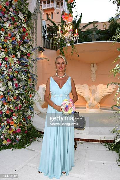 RATES Della Rounick after the wedding of Ivana Trump and Rossano Rubicondi at the MaraLago Club on April 12 2008 in Palm Beach Florida