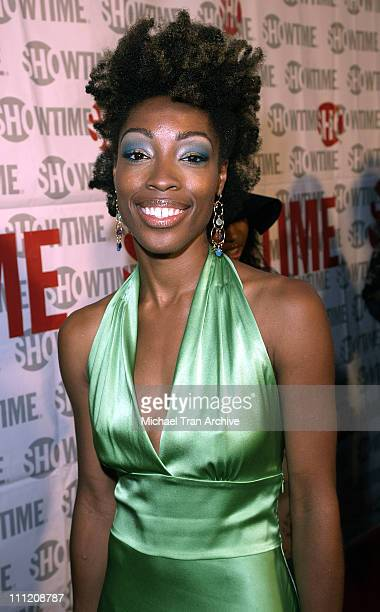 """Delle during Showtime Presents """"Weeds"""" and """"Barbershop"""" Los Angeles Premiere at Paramount Theater At Paramount Studios in Hollywood, California,..."""