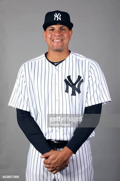 Dellin Betances of the New York Yankees poses during Photo Day on Tuesday February 21 2017 at George M Steinbrenner Field in Tampa Florida