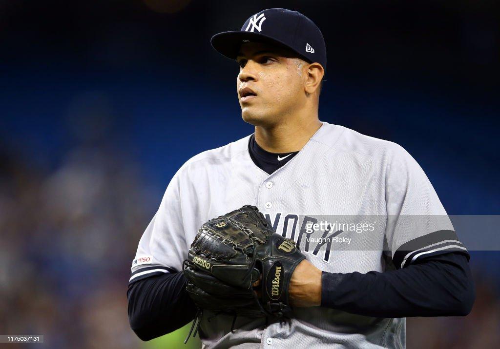 New York Yankees v Toronto Blue Jays : Foto jornalística