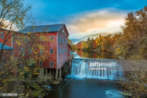 dells grist mill - wisconsin stock pictures, royalty-free photos & images