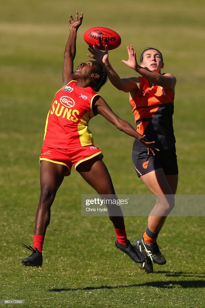 AFLW Winter Series Rd 2 - Gold Coast v Southern Giants