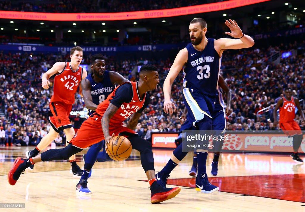 Memphis Grizzlies v Toronto Raptors : News Photo