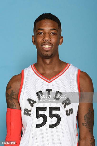 Delon Wright of the Toronto Raptors poses for a head shot during the 20162017 Media Day on September 26 2016 at the BioSteel Centre in Toronto...
