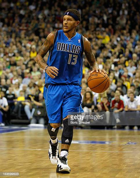 Delonte West of Dallas in action during the NBA Europe Live 2012 Tour match between Alba Berlin and Dallas Mavericks at O2 World on October 6 2012 in...