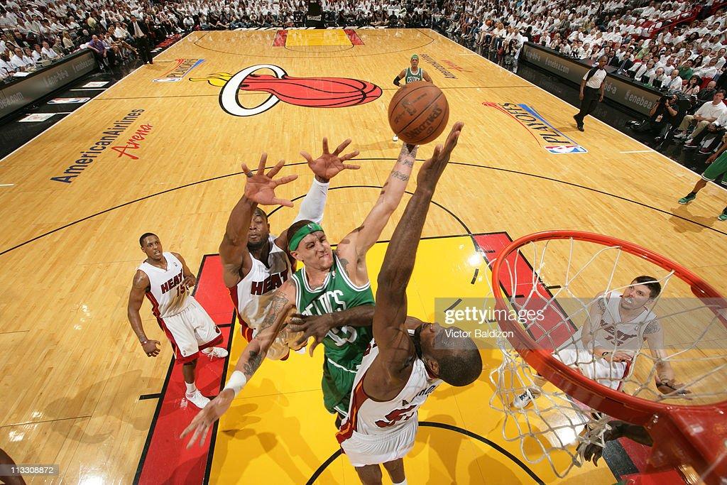 Boston Celtics v Miami Heat - Game One : News Photo