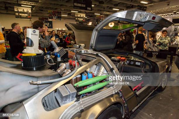Delorean auf der Comic Con Messe in Berlin am