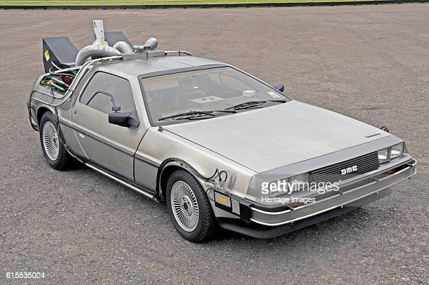 DeLorean Back to the Future film car replica Artist Unknown