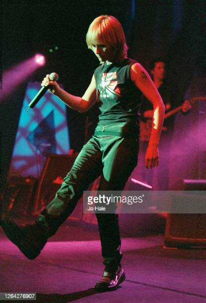 Delores O'Riordan of The Cranberries perform at Shepherds Bush Empire in London 12 April 1999 United Kingdom