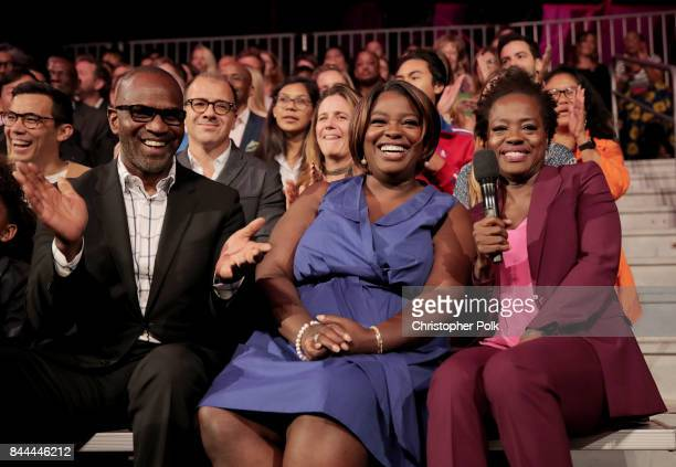 Deloris Grant Executive Producers of EIF Presents XQ Super School Live Viola Davis and Julius Tennon attend XQ Super School Live presented by EIF at...