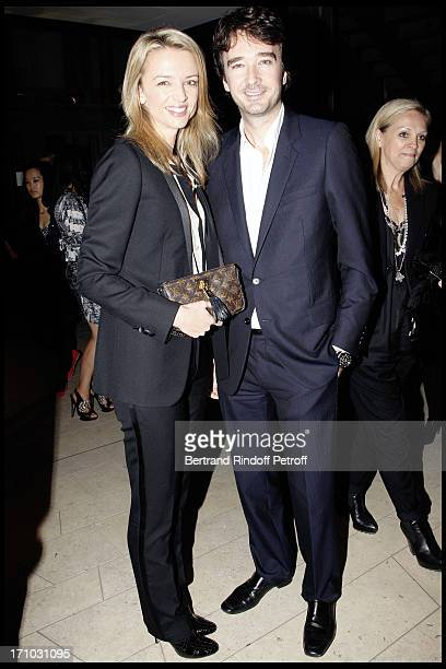 Delphine Arnault and brother Antoine Arnault at Every Journey Began In Africa Party For The Exhibition Africa Rising And The Discovery Of The...