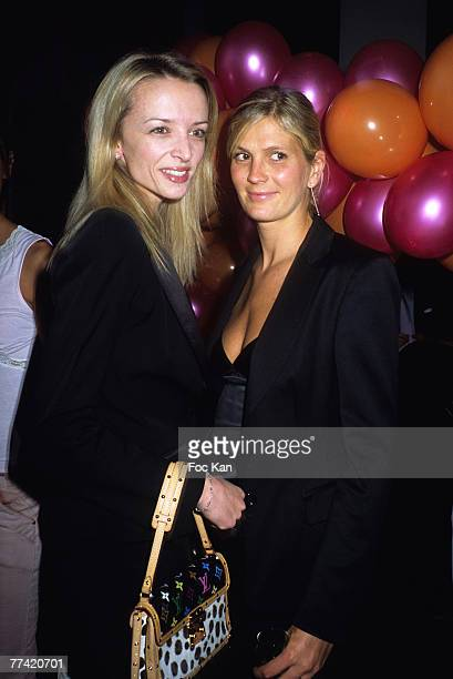 Delphine Arnault and Segolene Gallienne