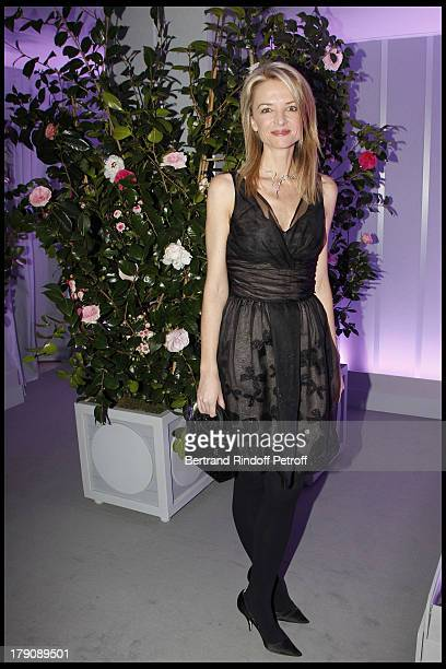 Delphine Arnault at The Dior Jewellry Boutique Party at Place Vendome In Paris