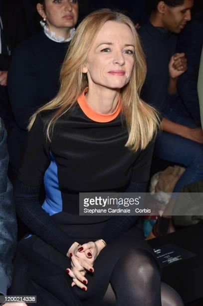 Delphine Arnault attends the Berluti Menswear Fall/Winter 20202021 show as part of Paris Fashion Week at Opera Garnier on January 17 2020 in Paris...