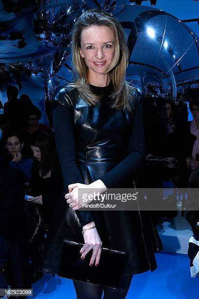 Delphine Arnault attends the Christian Dior Fall/Winter 2013 ReadytoWear show as part of Paris Fashion Week on March 1 2013 in Paris France