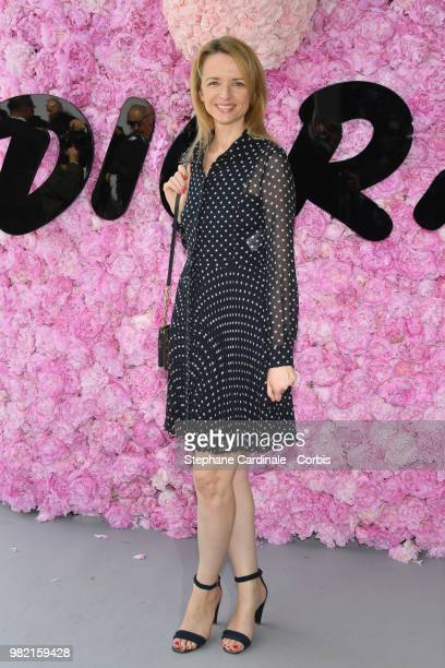 Delphine Arnault attends the Dior Homme Menswear Spring/Summer 2019 show as part of Paris Fashion Week Week on June 23 2018 in Paris France