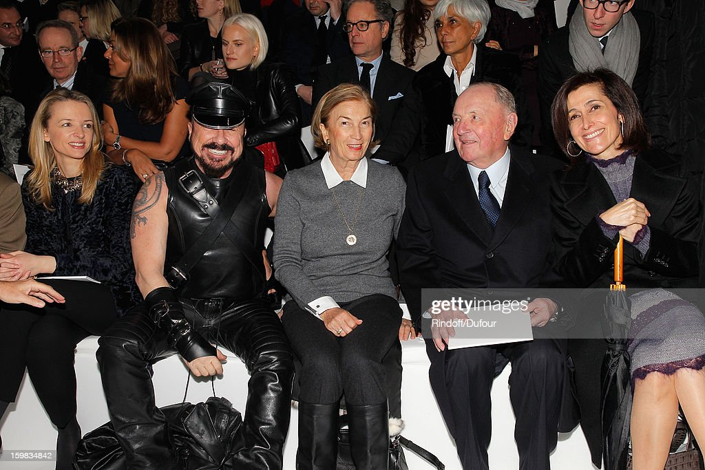 Christian Dior: Front Row - Paris Fashion Week Haute-Couture Spring/Summer 2013