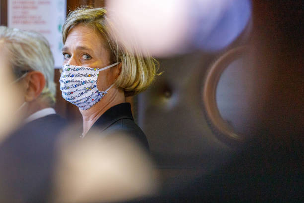 BEL: Delphine Boël Appears For The Last Hearing At The Court Of Appeal In Brussels