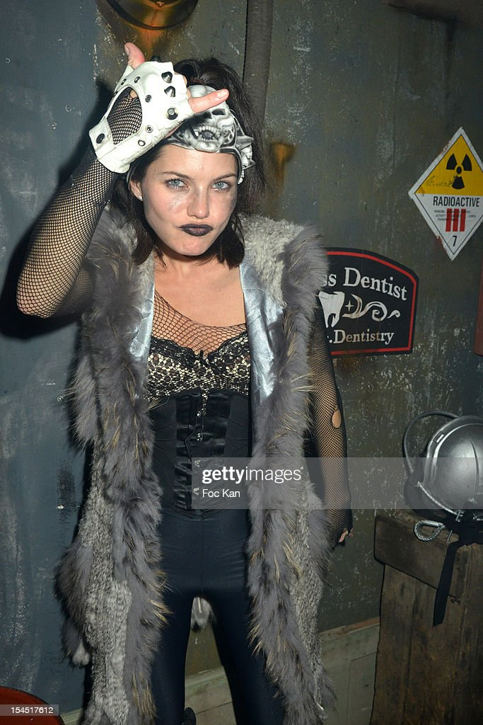 Delphine Chaneac attends the u0027Chaos 2099u0027 Apocalypse Costume Ball hosted by Les Ambassadeurs In. u0027  sc 1 st  Getty Images & Chaos 2099 Pictures and Photos | Getty Images
