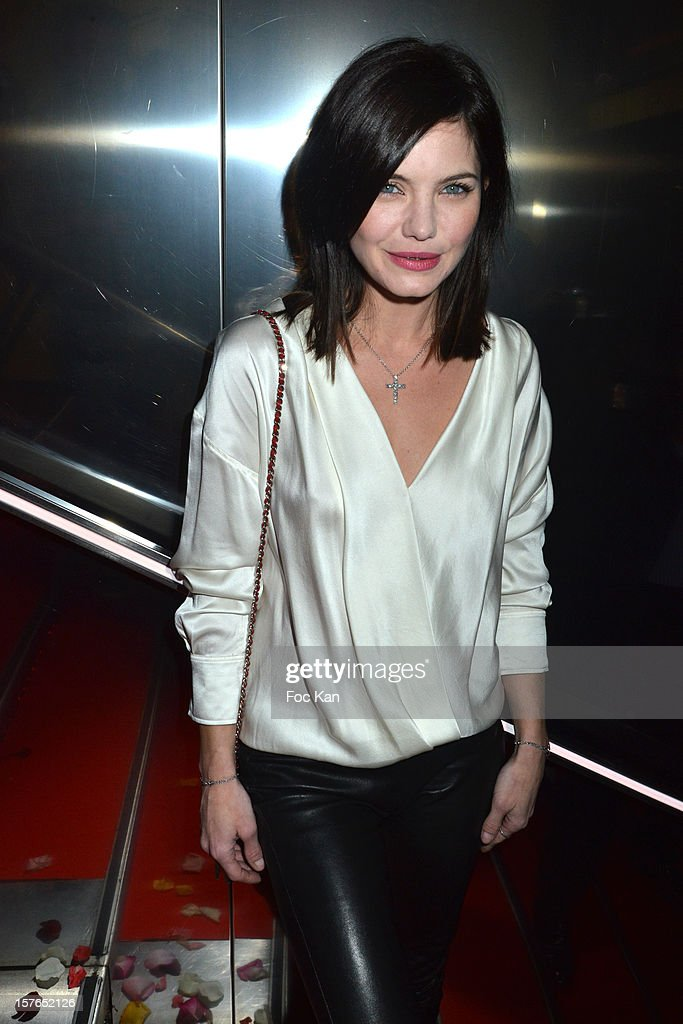 Delphine Chaneac attends the Jeweler Edouard Nahum 'Maya' New Collection Launch Party at La Gioia on December 4, 2012 in Paris, France.