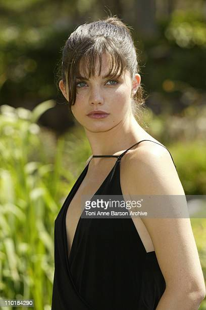 Delphine Chaneac during 2003 Monte Carlo Television Festival Lola Photocall at Casino Square in Monte Carlo Monaco