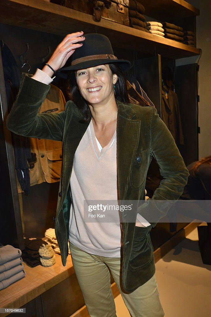 Delphine de Turckheim attends the MCS 'We The People' launch party at MCS Champs Elysees on November 27, 2012 in Paris, France.
