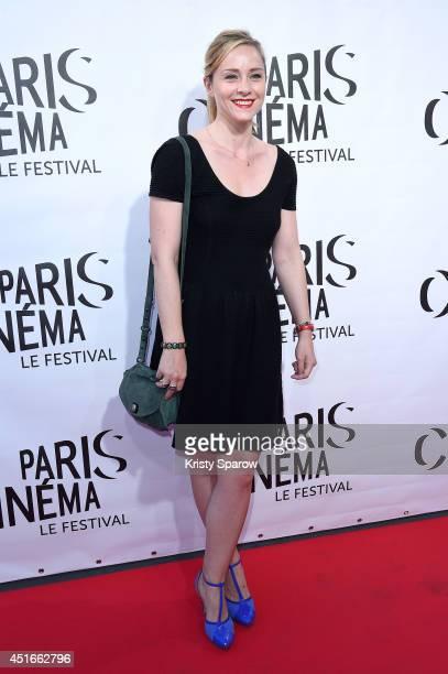 Delphine Depardieu attends the Festival Paris Cinema Opening Ceremony at Cinema Gaumont Capucine on July 3, 2014 in Paris, France.