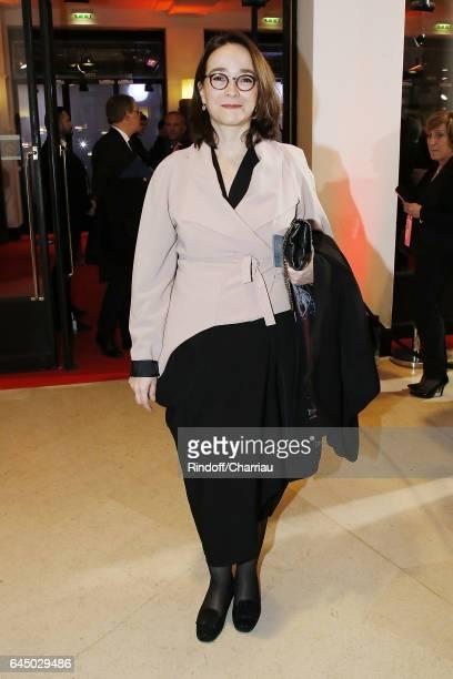 Delphine Ernotte attends Cesar Film Award 2017 at Salle Pleyel on February 24 2017 in Paris France