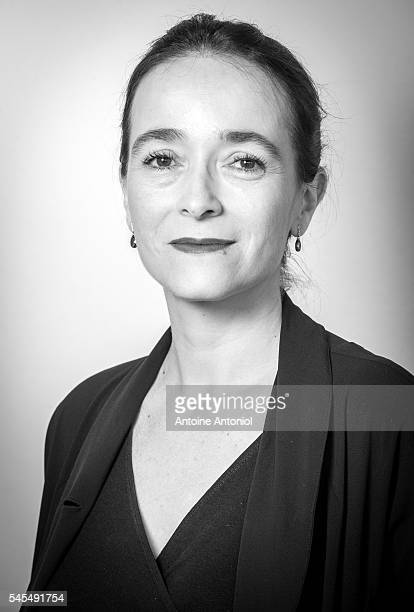 Delphine Ernotte is photographed for Le Film Francais on May 11 2016 in Paris France