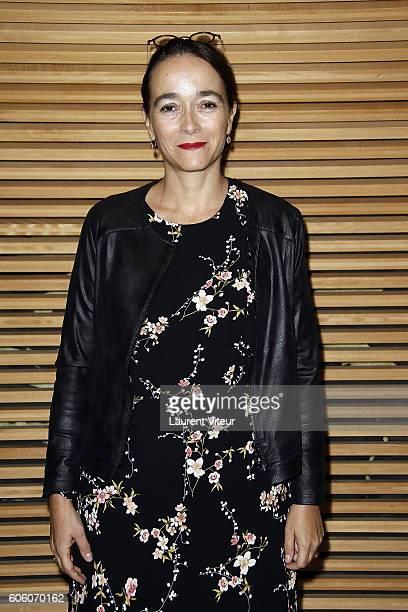 Delphine Ernotte presidente of France Television attends the 18th Festival of TV Fiction on September 16 2016 in La Rochelle France
